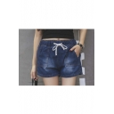 Women's Comfortable Elastic Waist Summer Shorts