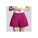 Women Casual Wide-cut Leg Shorts