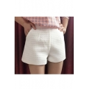 Women's Loose Plain Shorts