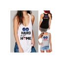 Women's Fashion Print Tanks