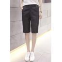 Casual Chic Plain Summer Short Pants