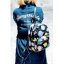 Cool Girl Celestial Zip Detail Backpack