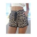 Women's Summer Claire Cheetah Print Shorts - Leopard Print Shorts