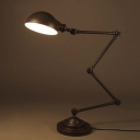 Oil Rubbed Bronze 1 Light Adjustable LED Desk Lamp Task Lighting Fixture