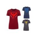 Unisex Short Sleeve Print T-shirt