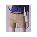 Women's Summer Casual Plain Shorts