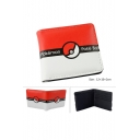 Hot Game Character iMonster Cute Cartoon Print Wallet