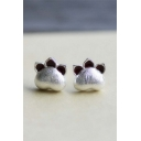 Popular Cute Cat Claw Stud Earrings