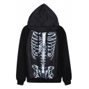 Fashion Digital Print Autumn Winter Hooded Sweater