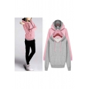 Women Eco Pullover Fleece Hoodie Warm Sweatshirt Coat Jacket Club Swoosh