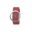 Women's Hollow Out Perspective Belt Watch
