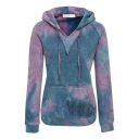 Women's Courtney Burnout Hooded Pullover Blend Fleece