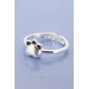 Fashionable Cute Cat Claw Opening Ring
