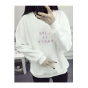 LIFE IS PARTY Sweater Top Sweatshirt Women's Tumblr Kawaii