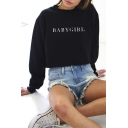 Women's Casual Sweatshirt Tops Long Sleeve Pullover BABY GIRL