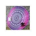 Round Tapestry Yoga Mat Picnic Blanket Bohemia Decoration Tapestry Rug
