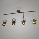 Bronze Finished Four Light 39'' Wide Large LED Spotlight