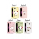 New Arrival Cute Animal Pattern Phone Cases for iPhone 5/5S/SE iPhone 6 iPhone 6 Plus