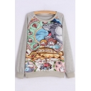 Women's Long Sleeve My Neighbor Totoro Sweatshirt Pullover Shirt Tops