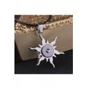 Unisex Fashion Eye Of The Little Black Sun Pendant