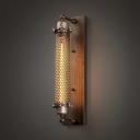 Industrial Retro Style 1 Light Hallway Indoor LED Wall Sconce