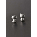 New Arrival Fashion Cute Cat Stud Earrings
