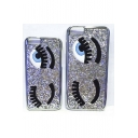 Glitter Fashion Big Eyes Eyelashes Phone Case for iPhone 5/5S iPhone 6 iPhone 6 Plus