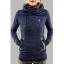 Women's Casual Thick Hooded Fleece Sweater Sweatshirt Jacket