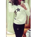 2016 Autumn Print Sweatshirt Tracksuit Women Casual Pullover Women Shirt Long Sleeve Harajuku Sweatshirt