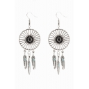 New Arrival Vintage Style Feather Detail Earring