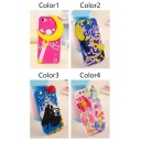 Cute Cartoon Silicone Phone Case for iPhone 5/5S iPhone 6/6S iPhone 6 Plus