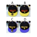 Unisex Fashion Cartoon Letter Baseball Cap