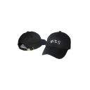Unisex Fashion Embroidered Detail Baseball Cap Outdoor Hats Hip Hop Hats