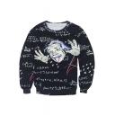 Unisex Round Neck Pullover Sweatshirt M-XXL
