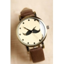 New Arrival Fashion Moustache Dial Quartz Watch