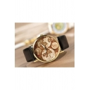 Fashion Women's Worldwide Map Print Watch