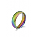 Colorful Titanium Ring