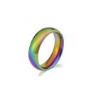 Colorful Titanium Ring