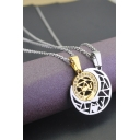 1 Pair Love Forever Sun Moon Matched Pendant Couple Hot