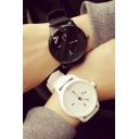 Fashion Concise Style Unisex Silica Gel Strap Watches
