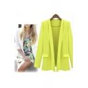 Women's Fashion Open-Front Long Sleeve Blazer