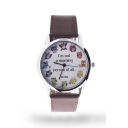 Fashion Unisex Cute Bats Round Watch