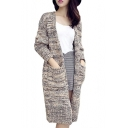 Women's Winter Warm Loose Knitted Sweater Jacket Cardigan