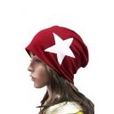 Stylish New Design Star Print Cotton Winter Fashion Hat