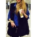 Women's Faux Fur Warm Tunic Vest