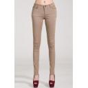 Women's Jeans Five Pocket Stretch Denim Pants