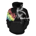 Popular Unisex 3D Inner Senses Print Hooded Long Sleeve Hoodie
