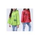 Little Girls' Ladybug Rain Coat
