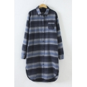 Fall Winter New Style Striped Long Sleeve Tunic Shirt