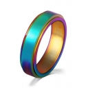 Unisex Romantic Rainbow Colorful Ring